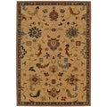 Karastan English Manor Preston Beige Rug (8'6 x 11'6)