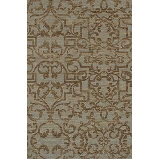 Karastan Sierra Mar French Quarter Bluestone Rug (8'6 x 11'6)