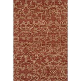 Karastan Sierra Mar French Quarter Henna Rug (8'6 x 11'6)