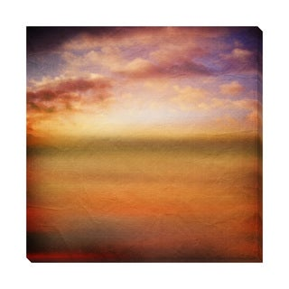 Abstract Sunset Oversized Gallery Wrapped Canvas