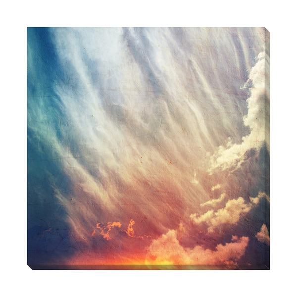 Colors Sky Oversized Gallery Wrapped Canvas