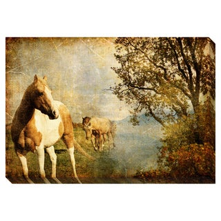 Fallow I Oversized Gallery Wrapped Canvas