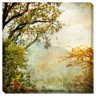 Vintage View Oversized Gallery Wrapped Canvas