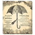 Vintage Umbrella Oversized Gallery Wrapped Canvas