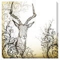 Vintage Animal Oversized Gallery Wrapped Canvas