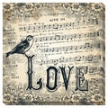 Love Bird Oversized Gallery Wrapped Canvas