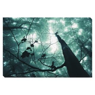 Magical Forest Tree Oversized Gallery Wrapped Canvas
