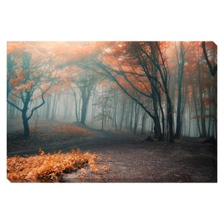 Tree Path Oversized Gallery Wrapped Canvas
