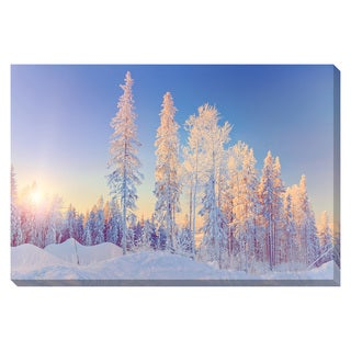 Winter Wonderland Oversized Gallery Wrapped Canvas