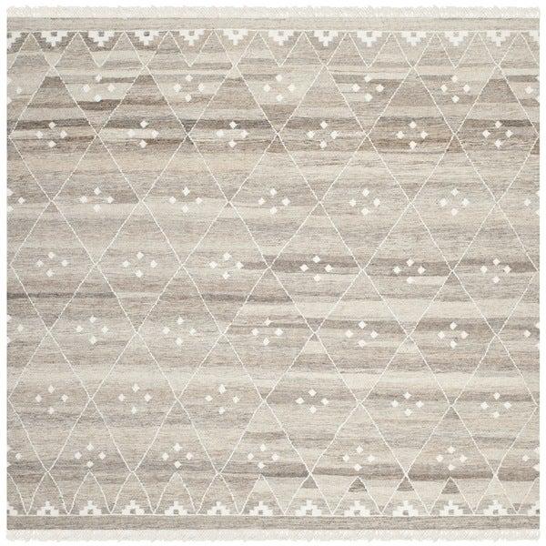 Safavieh Hand Woven Natural Kilim Natural Ivory Wool Rug