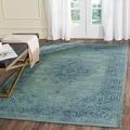 Safavieh Vintage Turquoise Viscose Rug (5'3 x 7'6)