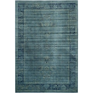 Safavieh Vintage Turquoise Viscose Rug (8' x 11'2)