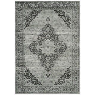Safavieh Vintage Oriental Light Blue Viscose Rug (4' x 5'7)