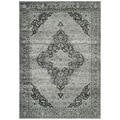 Safavieh Vintage Transitional Light Blue Viscose Rug (5'3 x 7'6)