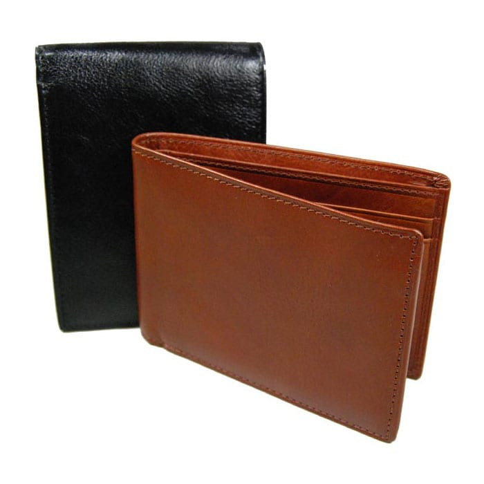 Castello Side Flip Leather Wallet