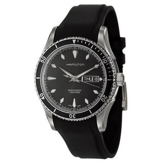 Hamilton Men's 'Jazzmaster' Black Swiss Automatic Watch
