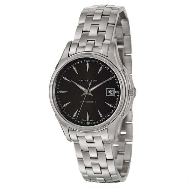 Hamilton Men's 'Jazzmaster' Stainless Steel Swiss Automatic Watch