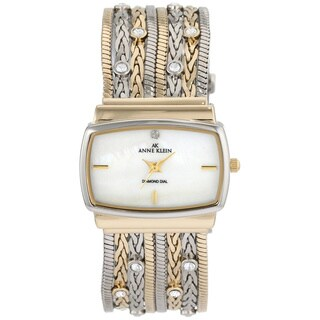 Anne Klein Women's Two-tone Stainless Steel Watch