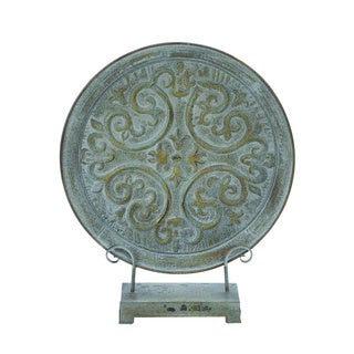 Roman Inspired Table Top Plate Decor