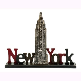 Versatile New York Tourist Empire State Building Accent Piece