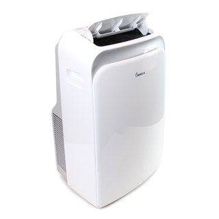 Impecca 12,000 BTU Portable Air Conditioner with Electronic Controls and Remote Thermostat