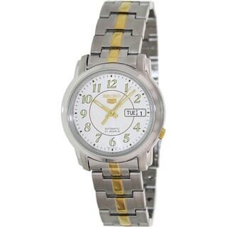 Seiko Men's '5 Automatic' Two-tone Automatic Watch