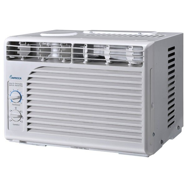 Impecca 5,000 BTU/h Window Air Conditioner with Mechanical Controls