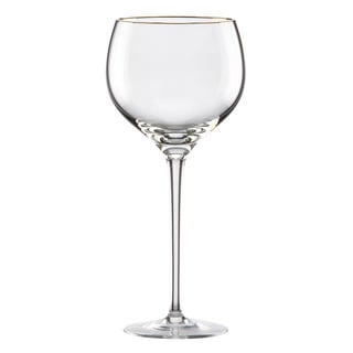 Lenox Eternal Gold Signature Crystal Wine Glass