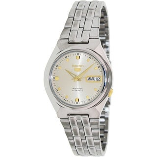 Seiko Men's '5 Automatic' Two-tone Automatic Watch