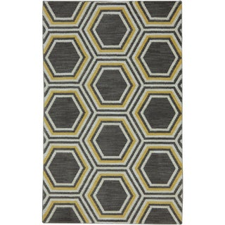 Karastan Panache Honey Queen Bungee Cord Rug (2'11 x 4'8)