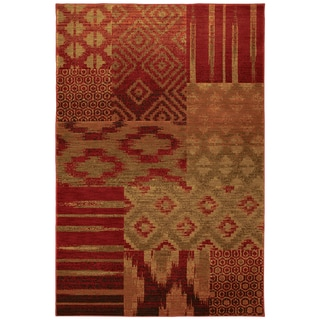 Karastan Carmel Cypress Point Crimson Rug (8' x 10')