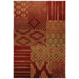 Karastan Carmel Cypress Point Crimson Rug (8' x 10')