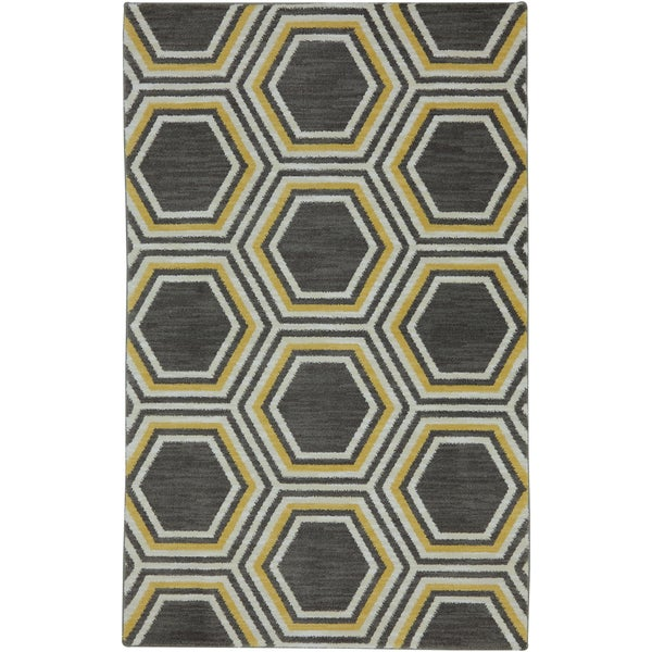 Karastan Panache Honey Queen Bungee Cord Rug (5'6 x 8'3)