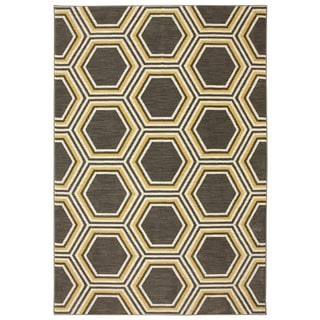 Karastan Panache Honey Queen Bungee Cord Rug (8'0 x 10'0)