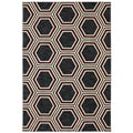 Karastan Panache Honey Queen Black (8' x 10')