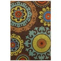 Karastan Panache Indonesia Coffee Bean Rug (2'11 x 4'8)