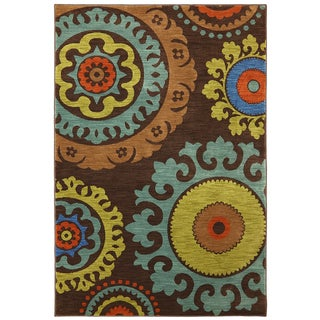 Karastan Panache Indonesia Coffee Bean Rug (8' x 10')