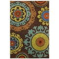 Karastan Panache Indonesia Coffee Bean Rug (9'6 x 12'11)