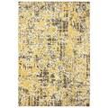 Karastan Panache Pixelated Creme Brulee Rug (5'6 x 8'3)