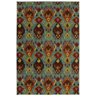 Karastan Panache Switchback Sagebrush Green (8'0 x 10'0)