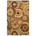 Arranged Medallions Rug (8' x 10')