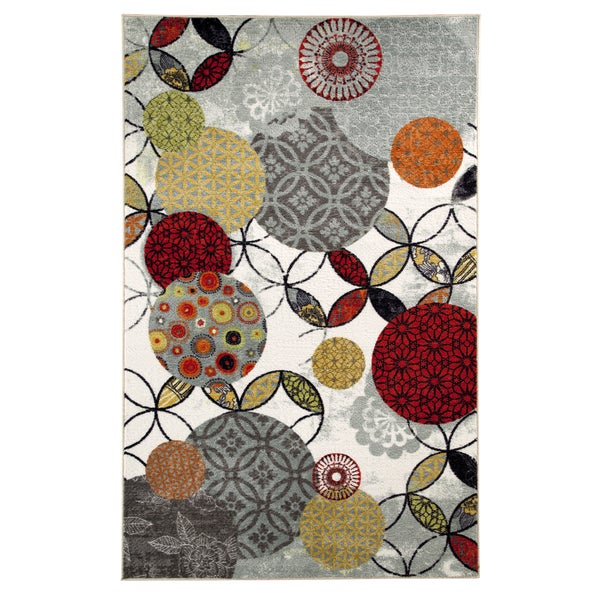 Give and Take Kaleidscope Rug (5' x 8')