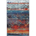 Eroded Color Multi Rug (8' x 10')