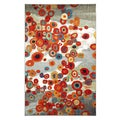 Tossed Floral Multi Rug (5' x 8')
