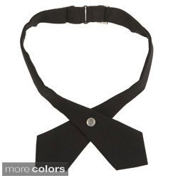 French Toast Girls Adjustable Solid Cross Tie