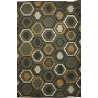 Honeycomb Shitake Rug (8' x 10')