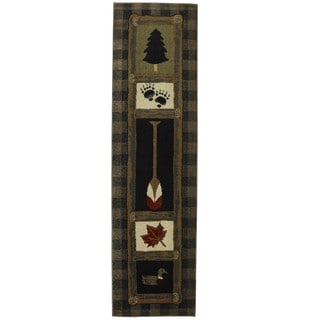 Outdoorsman Runner Rug (2'1 x 7'10)