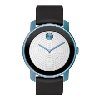 Movado Women's 'Bold' Blue Aluminum Watch