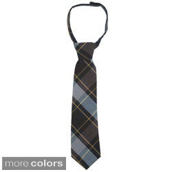French Toast Boys 14-20 Adjustable Plaid Tie