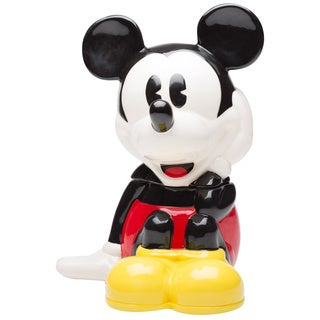 Mickey Mouse Shaped Cookie Jar